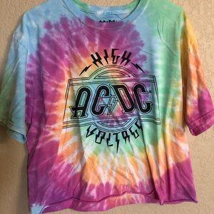AC/DC crop top
